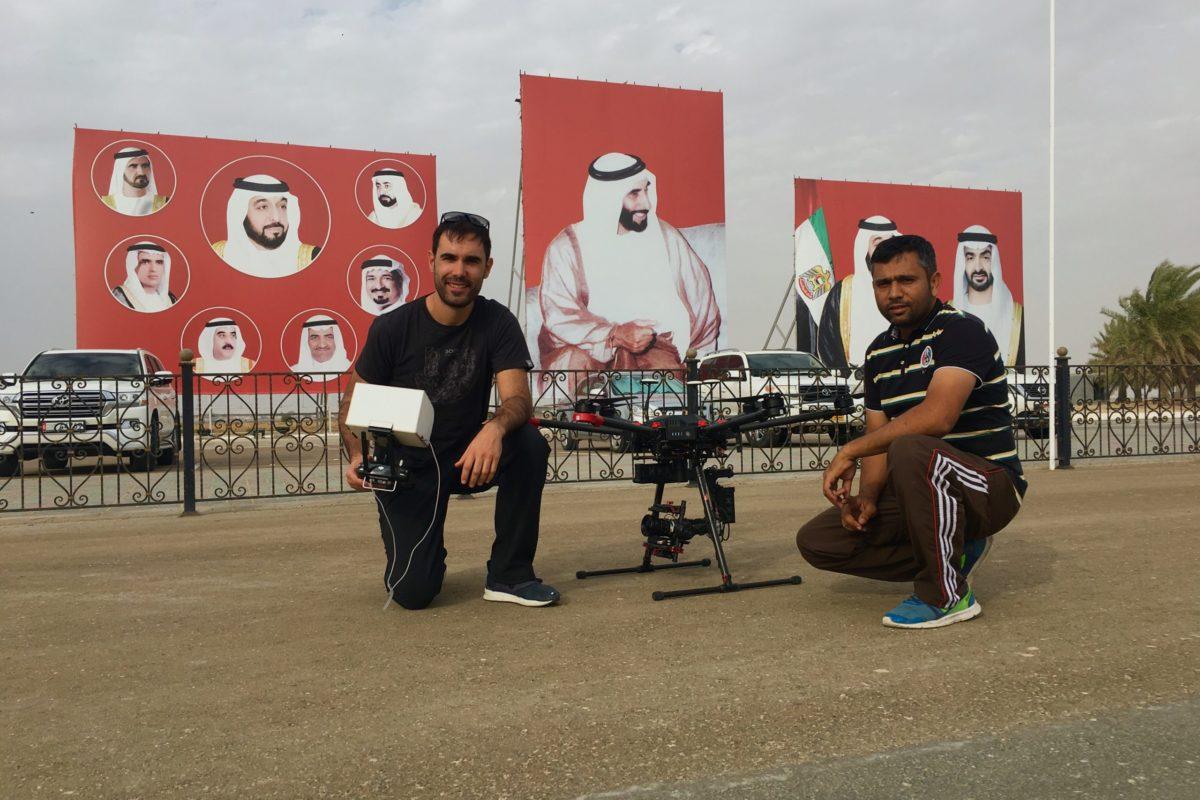 Drone Camel Races