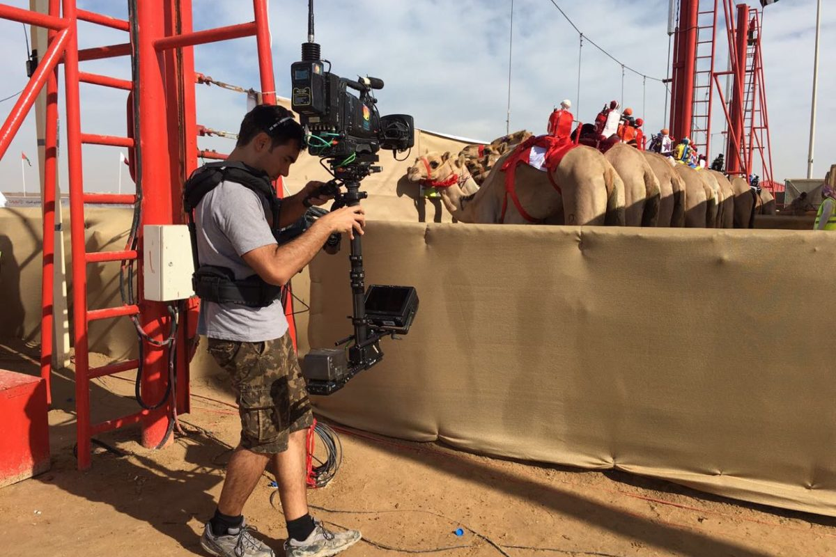 Steadicam Camel Races Final