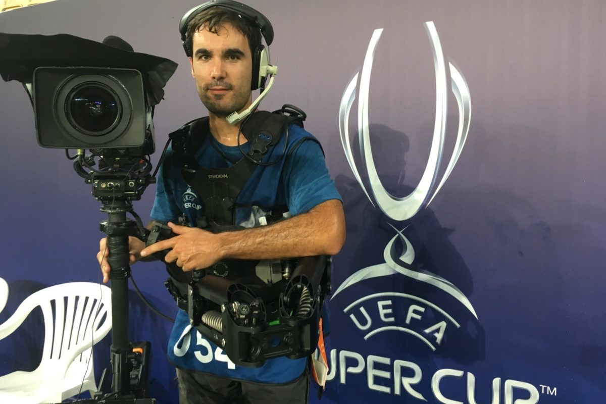 Steadicam European Supercup