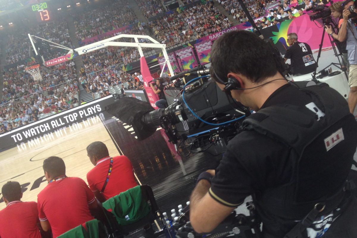 Steadicam Fiba World Cup