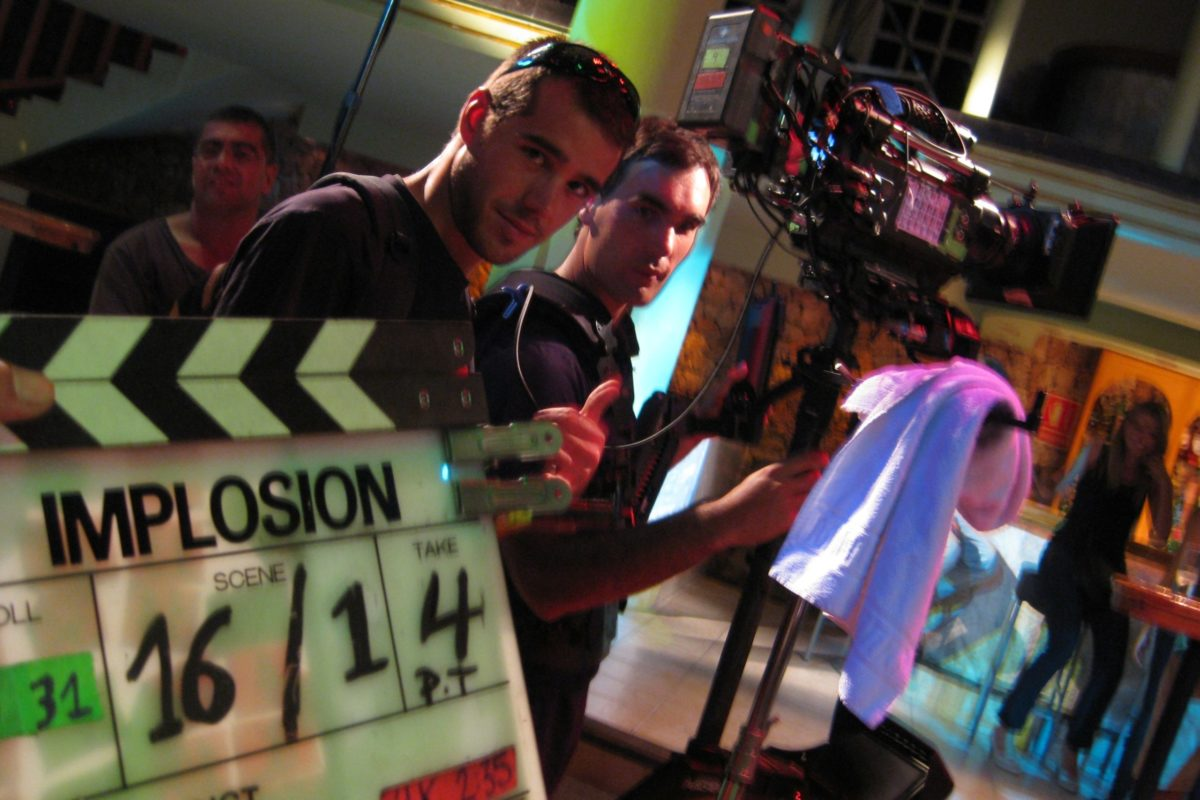 Steadicam Film Implosion