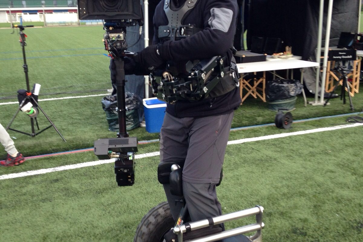 Steadicam Segway TV Commercial Etisalat