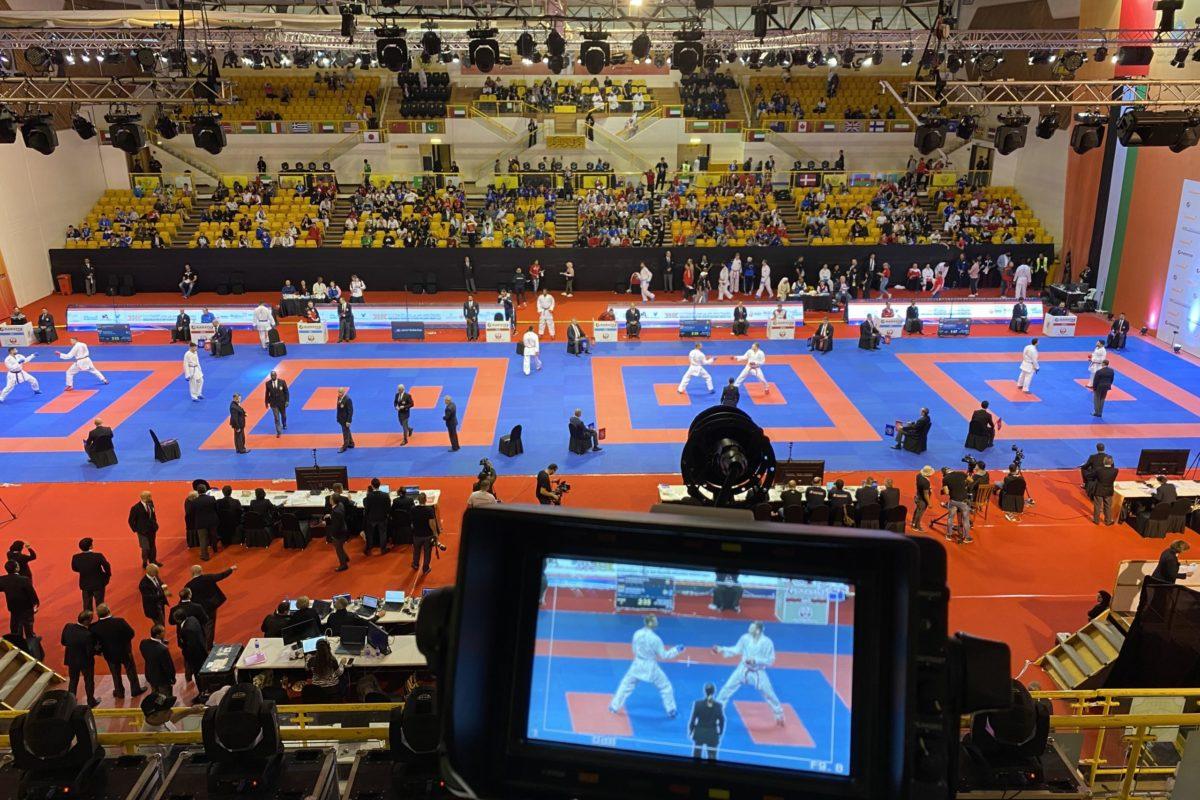 Camera Judo World Cup