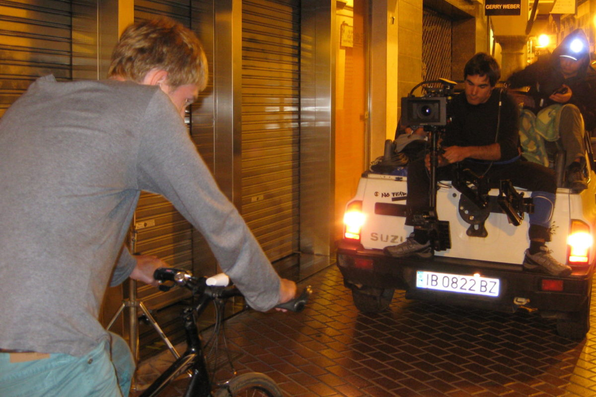 Steadicam Camera Car Film