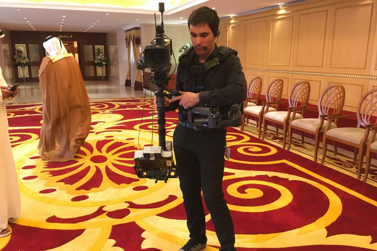 Steadicam UAE Government Events