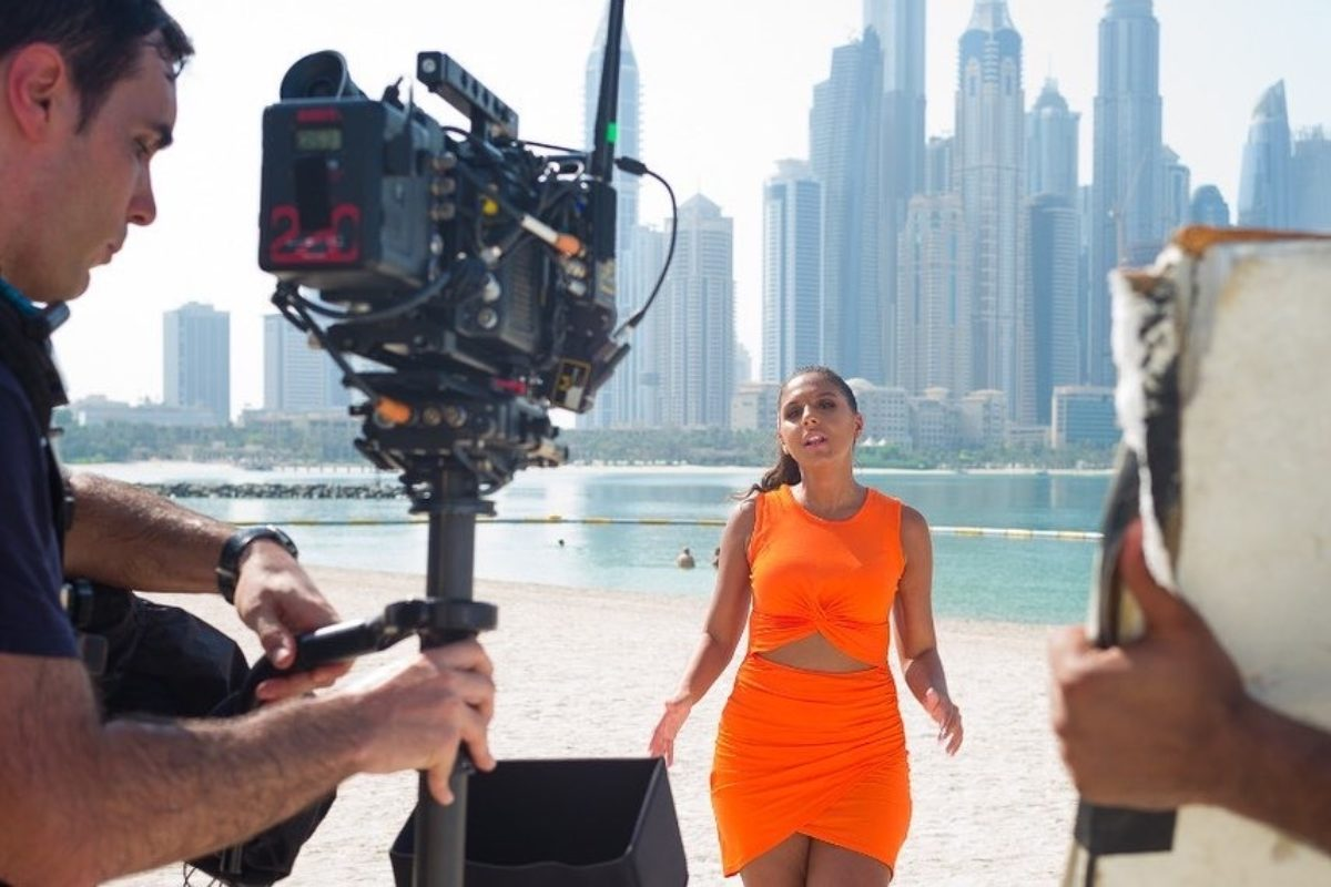 Steadicam videoclip Dubai
