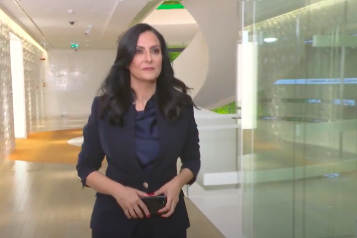 TV show asharq news 1st day